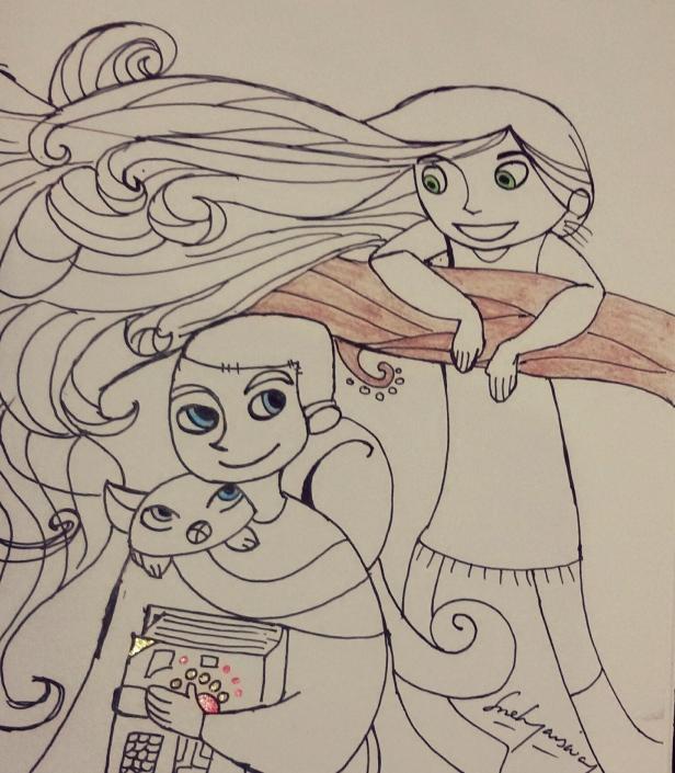 Friends from Kells - By Sneha Jaiswal