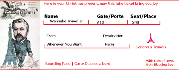 Fictional Ticket