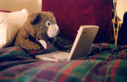 I think my laptop wishes I were inanimate too. Picture Source: http://www.flickr.com/photos/selva/24604141/
