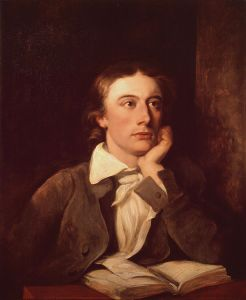 Potrait of John Keats. The poet sure was a beauty in himself apparently. Image courtesy - Wikimedia Commons